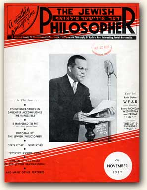 The Jewish Philosopher Magazine