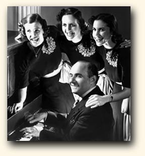 The Andrews Sisters with Sholom Secunda